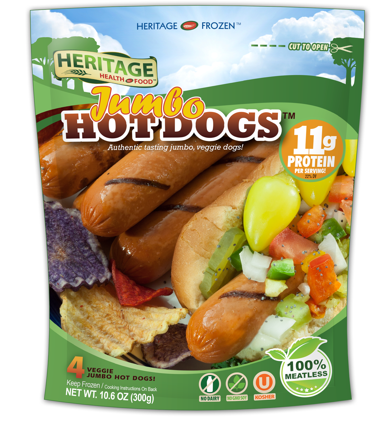Heritage Jumbo Hot Dogs™