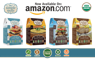 Kim's Simple Meals Now Available Through Amazon!